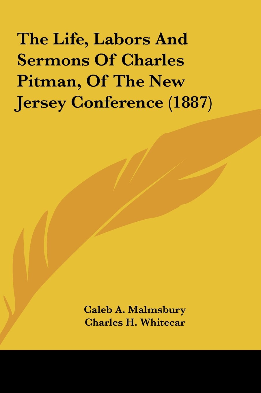 The Life, Labors And Sermons Of Charles Pitman, Of The New Jersey Conference (1887) pdf epub