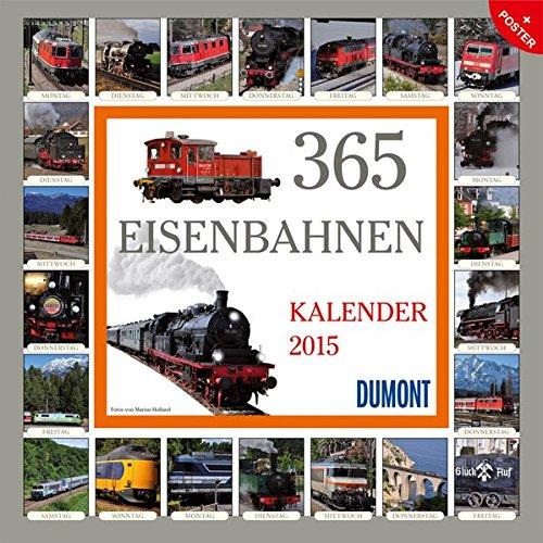 365 Eisenbahnen - Kalender 2015