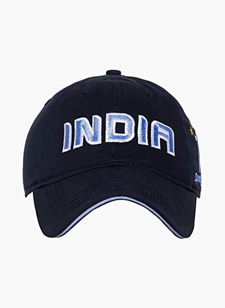 Buy Sportigoo Team India Golf Cap - Navy Blue Online at Low Prices in India  - Amazon.in 62409c2fbbb