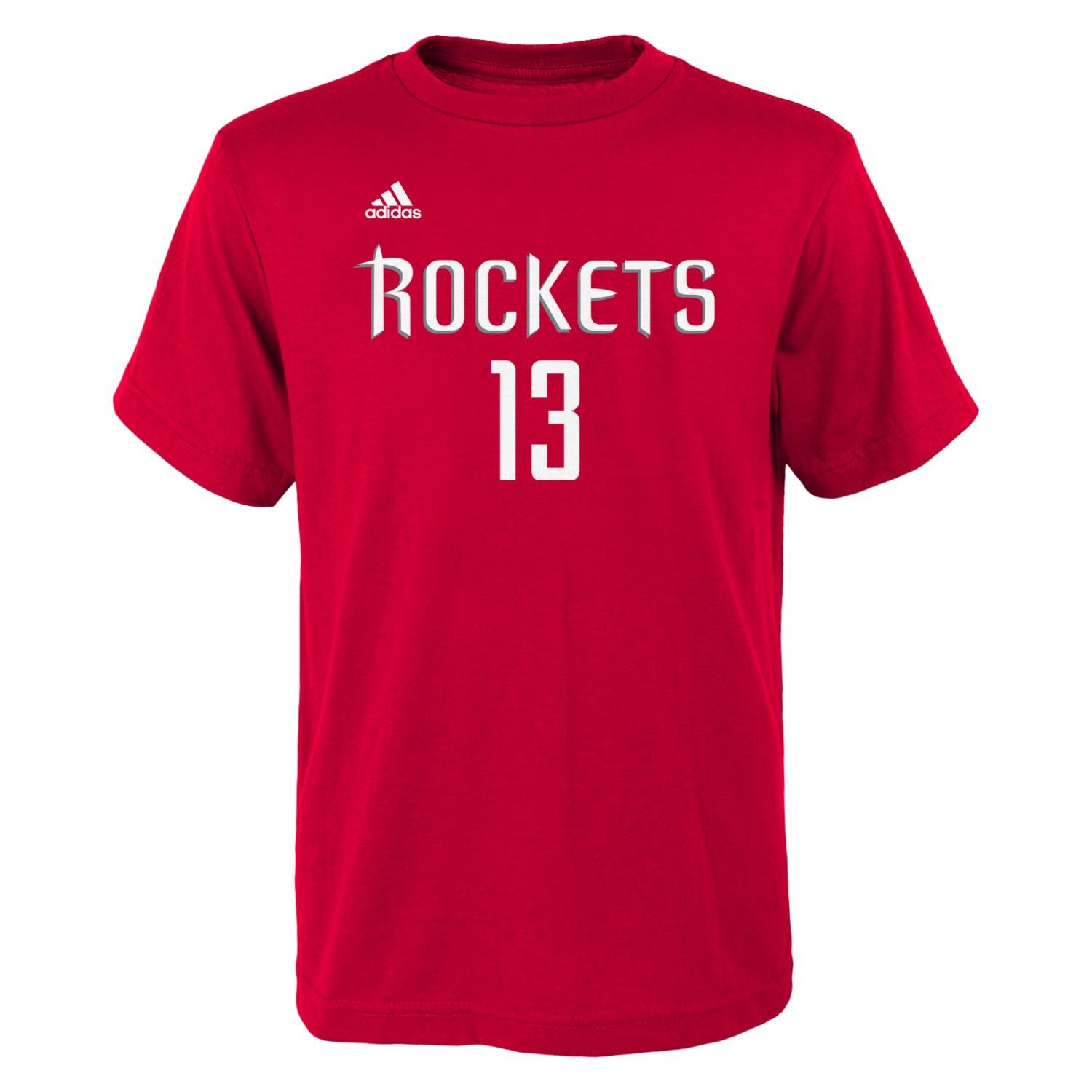 James Harden Houston Rockets Youth Adidas NBA Player Red T-Shirt