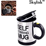 Skyfish Self Stirring Coffee Mug for Automatic Self Mixing