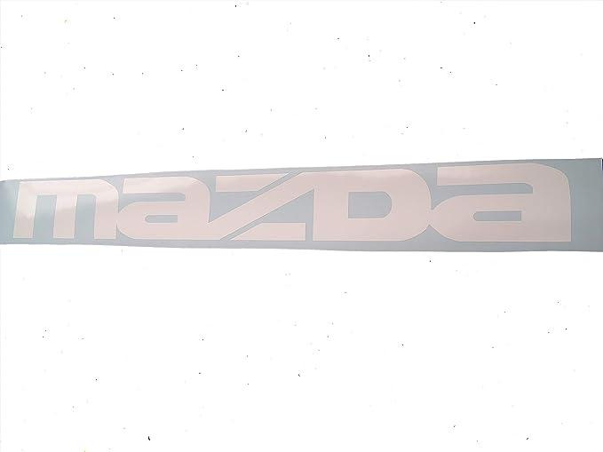 Mazda Seite Windschutzscheibe Aufkleber Cars Aufkleber Banner Graphic Jdm Die Cut Fenster Küche Haushalt
