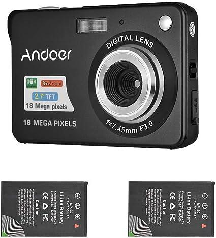 Andoer Digitalkamera Camcorder 18m 720p Hd Mit 2 Stück Kamera