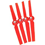 2 Pairs Propellers Rotor Blade Sets A and B Red for YUNEEC Typhoon G Q500 Q500+ Q500 4K RC Quadcopter Drone by lanlan