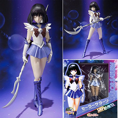 gg Sailor Moon Anime Pretty Guardian Sailor Saturn Action Figure Figurine Toys US