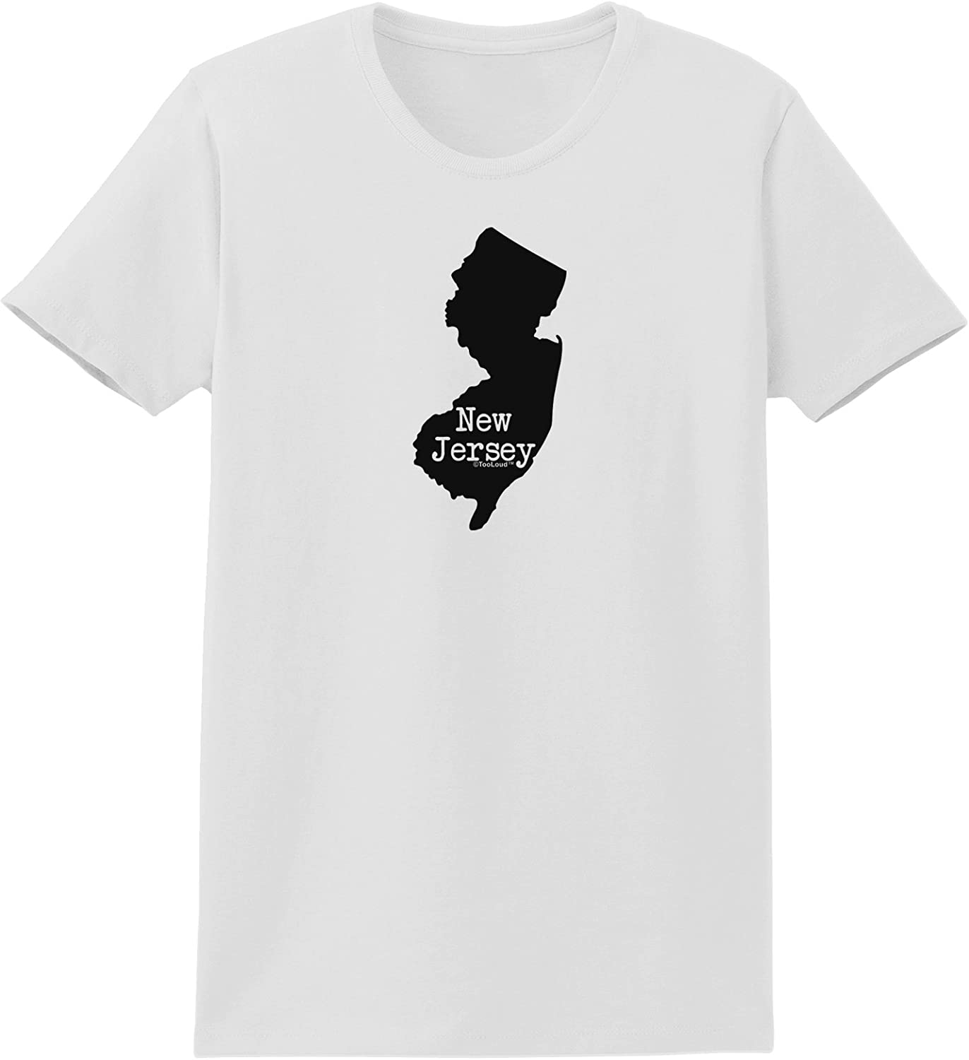 TooLoud New Jersey United States Shape Toddler T-Shirt