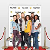 Step and Repeat LA Hollywood Star Retractable Banner 59'' wide