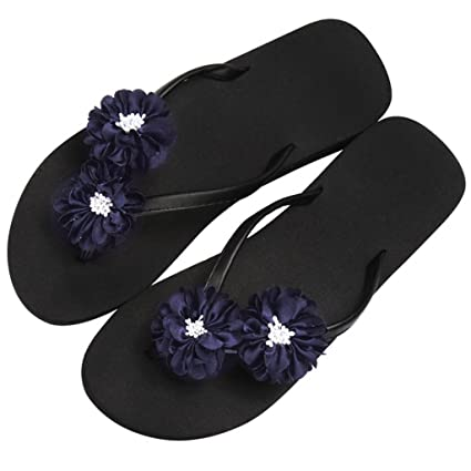 1bd37a3a3db5ba YAnFAn   Sandals Slipper Platform Heel Slip-On Clip Toe EVA Casual Sweet  Flip Flops
