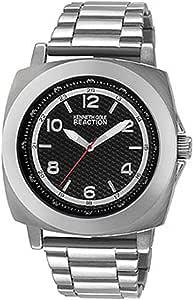 Kenneth Cole Reaction Unisex RK3246 Street Fashion Analog Display Japanese Quartz Silver Watch