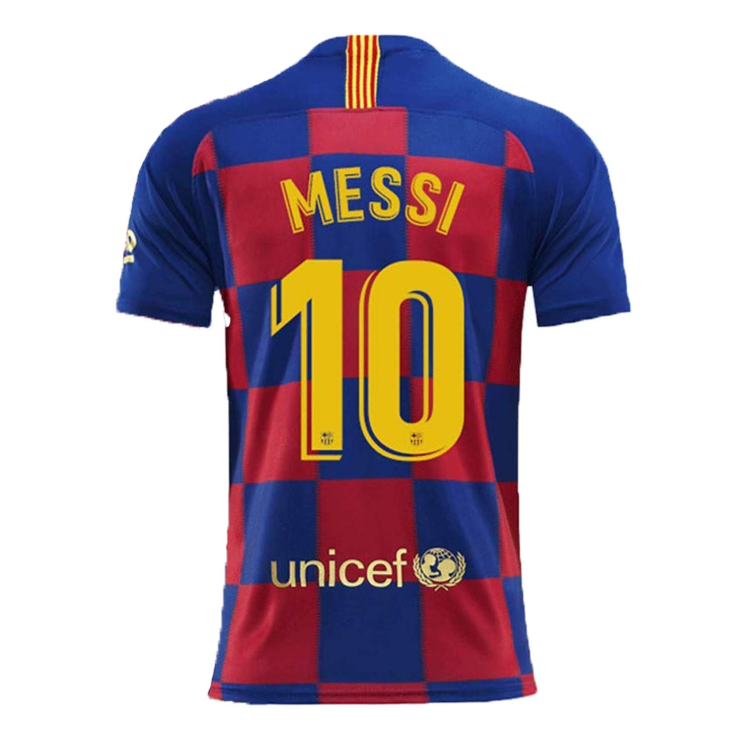 new style a2366 6e508 Amazon.com: 19-20 Barcelona 10 Messi and Juventus 7C Ronaldo ...