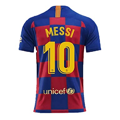 new style cb1f2 81888 Amazon.com: 19-20 Barcelona 10 Messi and Juventus 7C Ronaldo ...