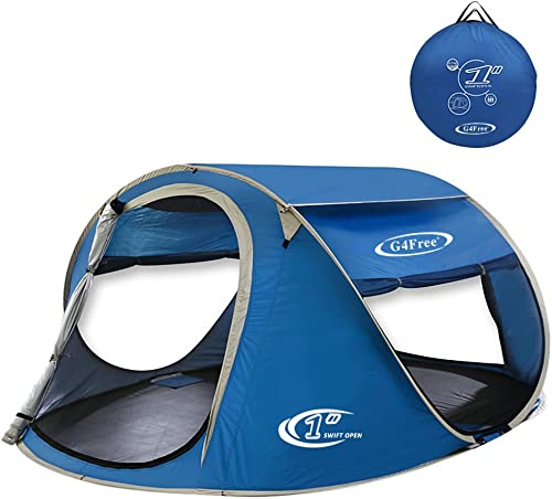 G4Free Pop-up Tents Ventilated 2 Doors