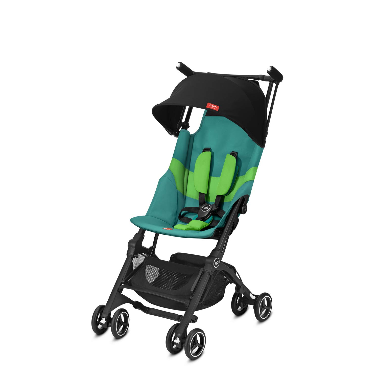 gb Gold Pockit+ All Terrain Ultra Compact Pushchair Cabin Luggage Compliant Night Blue From 6 Months to 17 kg approx. 4 Years