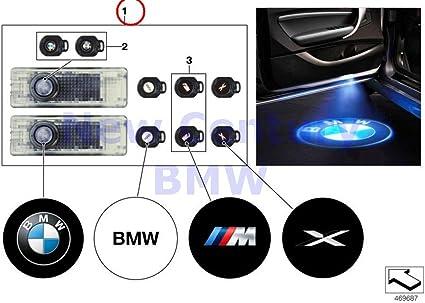 BMW Original y retrofittings LED Puerta Proyector LED de puerta de ...