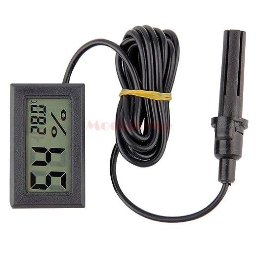 DGdolph Mini Digital LCD Thermometer Hygrometer Luftfeuchtigkeit Temperatur Meter Indoor