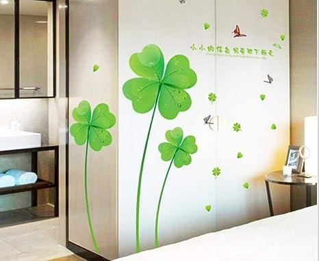 Decorazione Adesiva Armadio : Zbyll adesivo di parete camera da letto posto letto armadio bagno