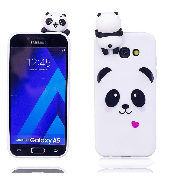 Amazon.com: Samsung Galaxy A5 carcasa de goma de 2017 ...