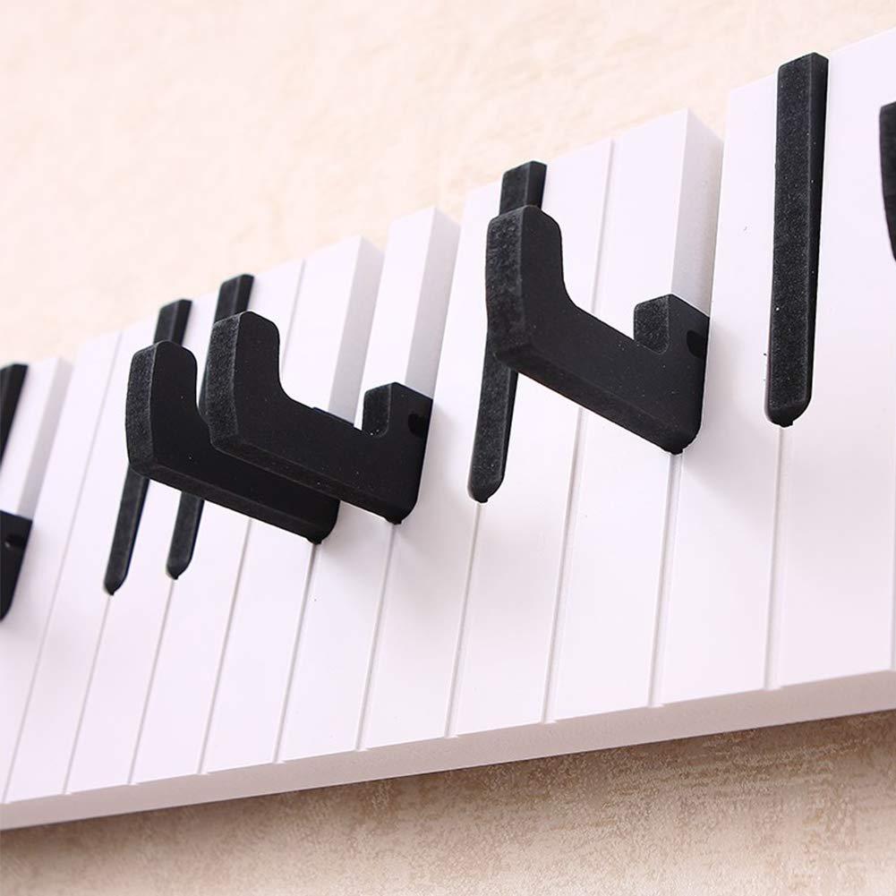 Dise?o Del Teclado De Piano Blanco Creativo Percha Perchero ...