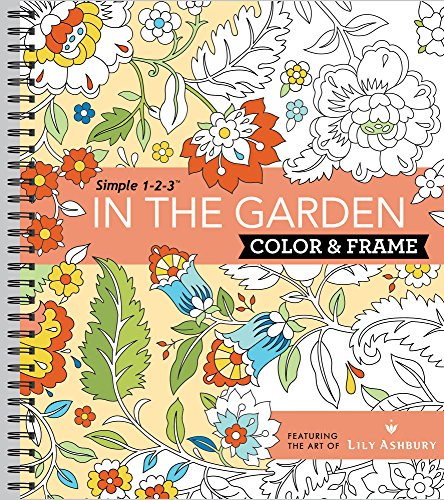 Pdf Crafts Color & Frame Coloring Book - In the Garden