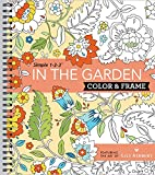 Color & Frame Coloring Book - In the Garden: more info