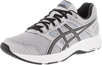 ASICS Gel-Contend 5 Zapatillas de running para hombre, Gris (negro, gris (Mid Grey/Black)), 43.5 EU: Amazon.es: Zapatos y complementos
