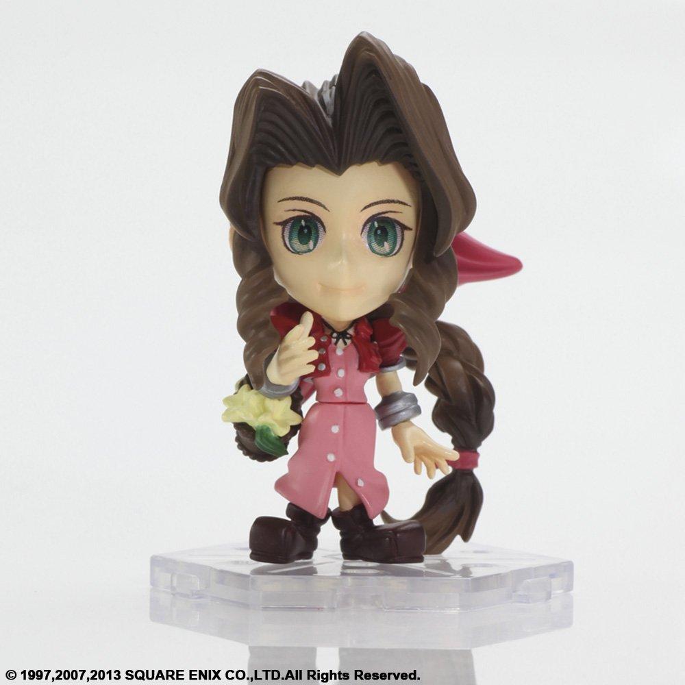 Square Enix Final Fantasy VII Aerith Aeris Gainsborough Trading Arts Mini Action Figure