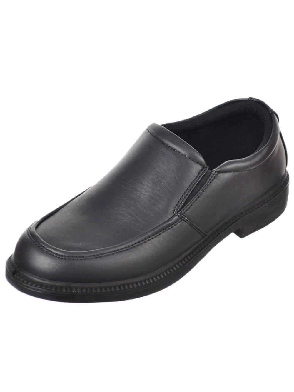 French Toast Boys Evan Slip On Loafer Dress Shoe 13 Black