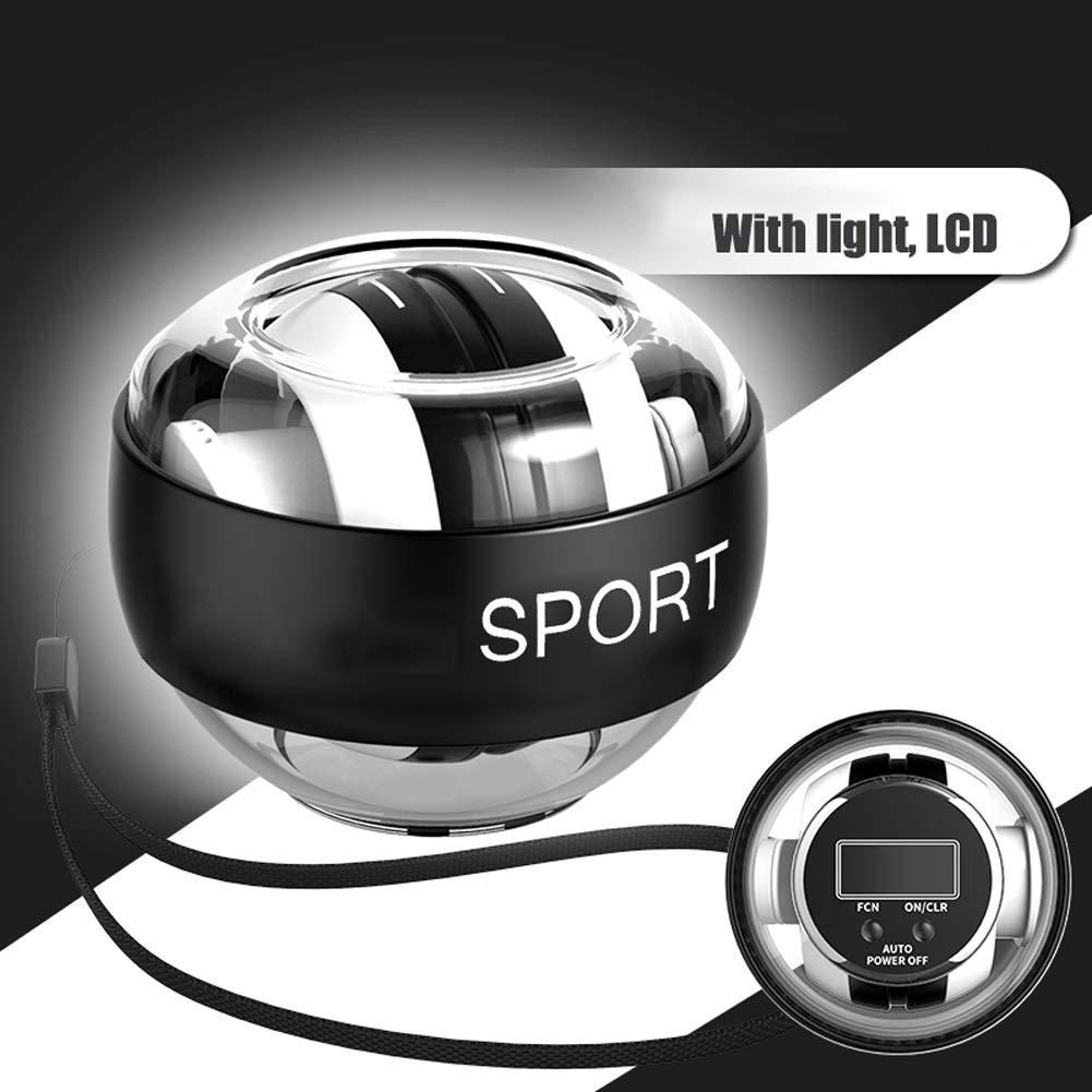 WMM Autostart Range Wrist Ball - Strengthening Gyroscopes - Wrist Strengthener (Color : White Light) by WMM - Wrist ball