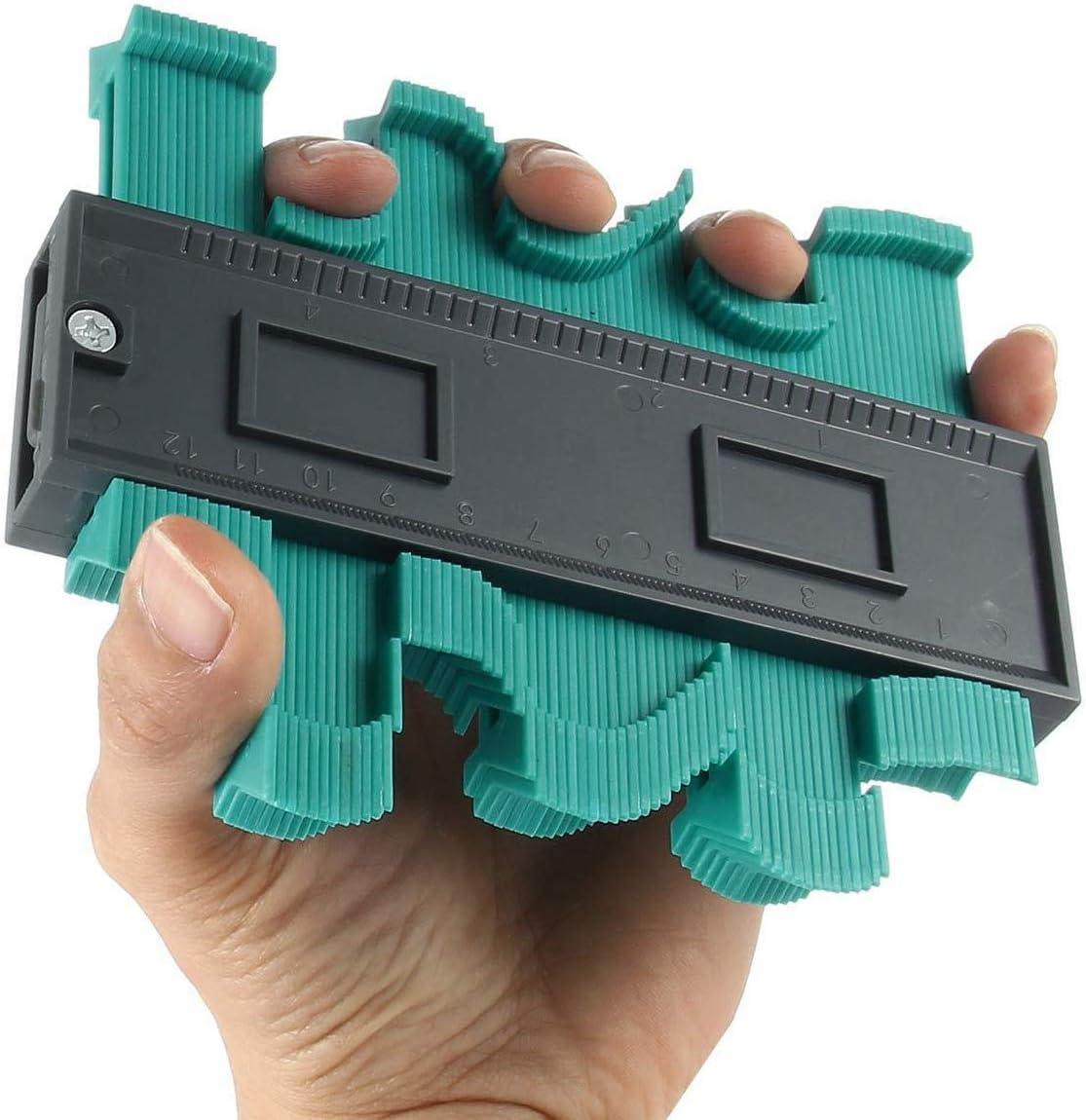 de mesure pour pr/écision de mesure de carrelage Copieur de Contour Sinwind Jauge de Contour Duplicateur 12 * 10