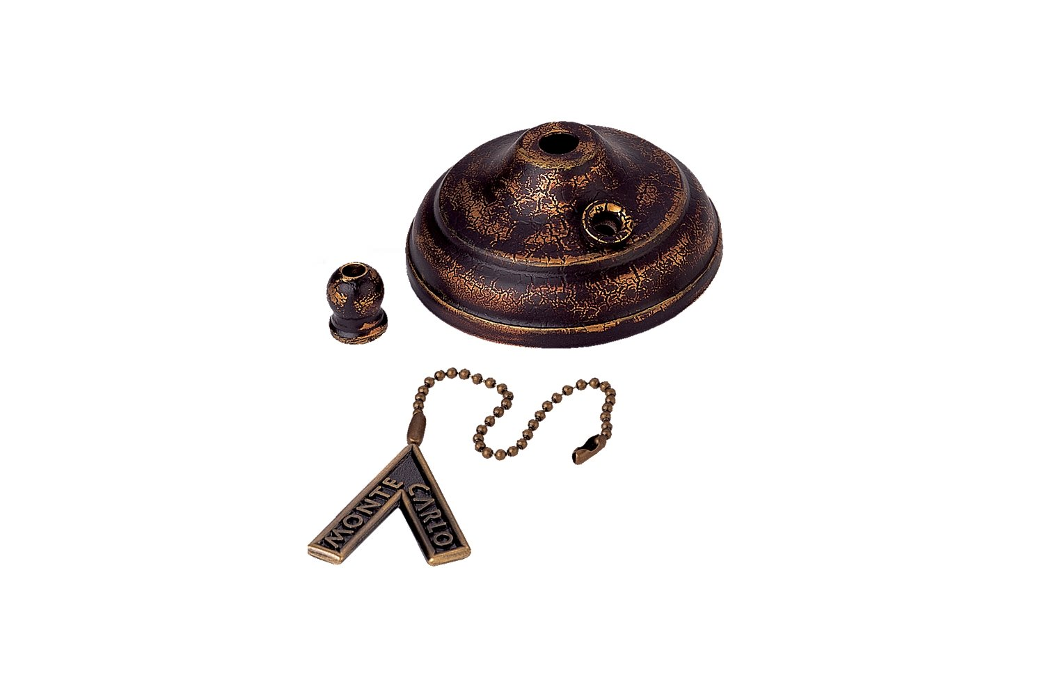 Monte Carlo MC83TB Ceiling Fan Pull Chain Type Bowl Cap Kit, Tuscan Bronze