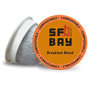 San Francisco Bay OneCup Donut Shop 72 Count- Single Serve Coffee Compatible with Keurig K-cup Brewers (6 Boxes of 12 Pods) Single Serve Coffee Pods, Compatible with Most Single Serve Brewers