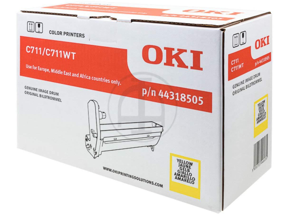 OKI Yellow Image Drum - Tambor de Impresora (20000 páginas ...
