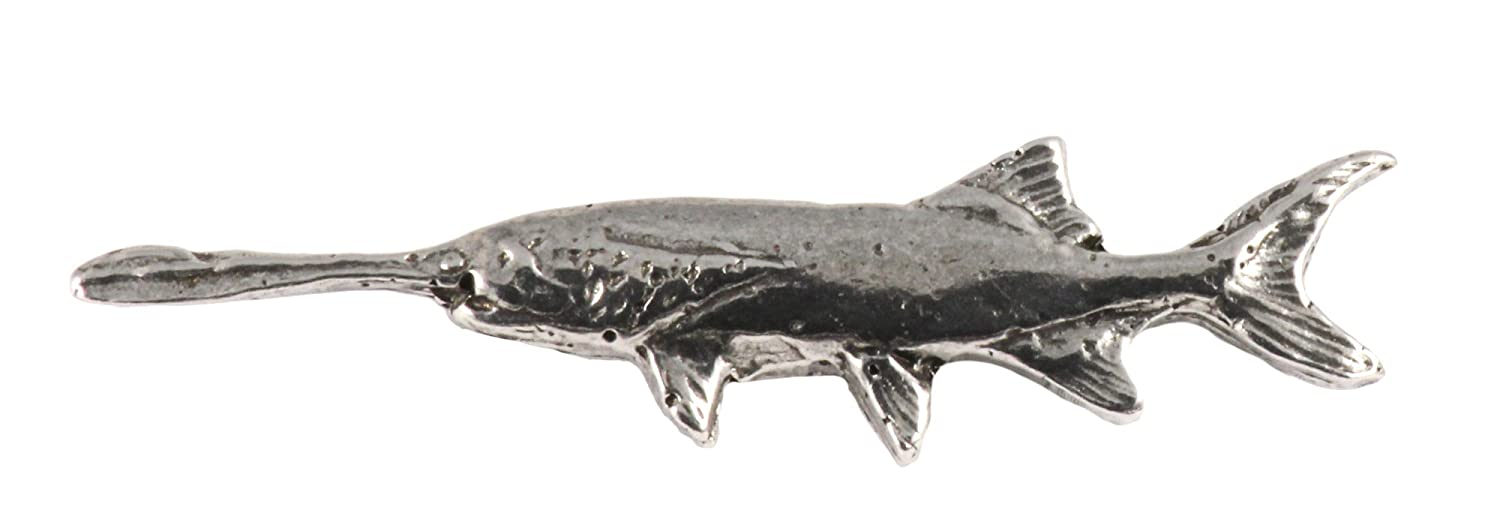 Creative Pewter Designs, Pewter Paddlefish Handcrafted