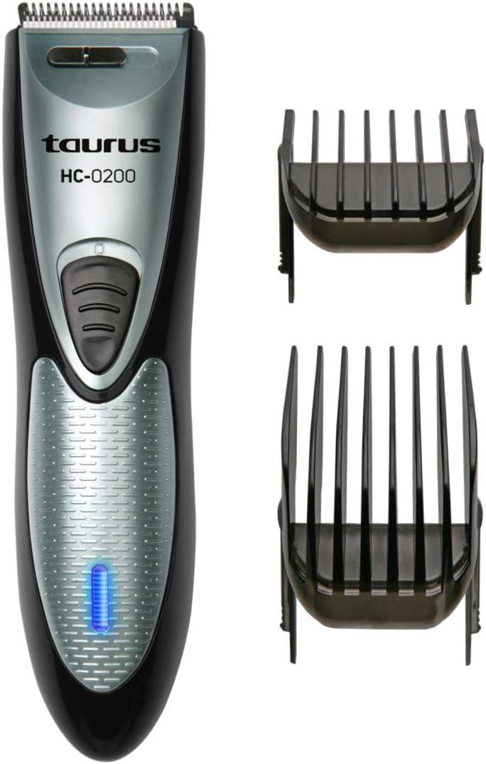 Taurus HC-0200 Maquina Cortapelo y Afeitar Barba con Cable,11 Alturas Corte, Plastico, Gris
