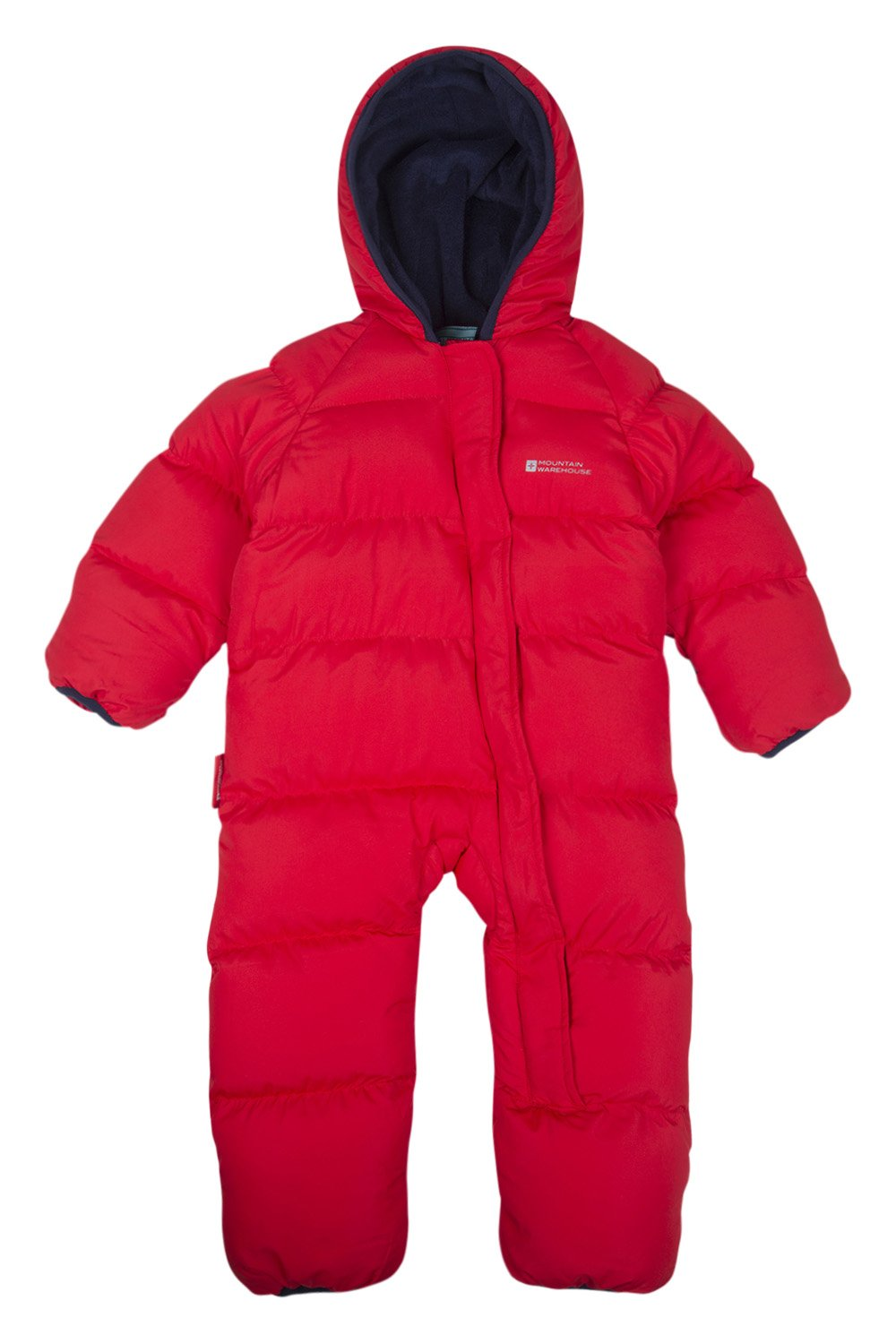 Mountain Warehouse Frosty Junior Padded Suit - Fleece Lined for Warmth