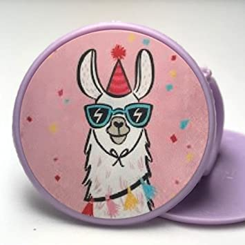 Llama Cupcake Cake Toppers Rings Birthday Party Favors