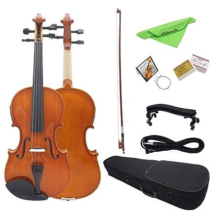 Instrumento de violín para principiantes Madera natural ...