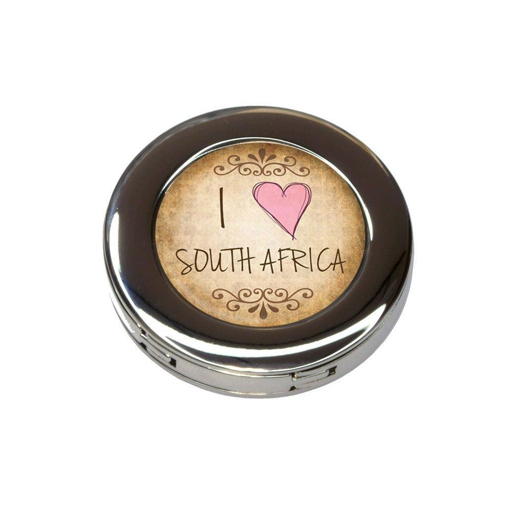 I Heart Love South Africa Vintage Foldable Purse Handbag Hook Hanger Holder
