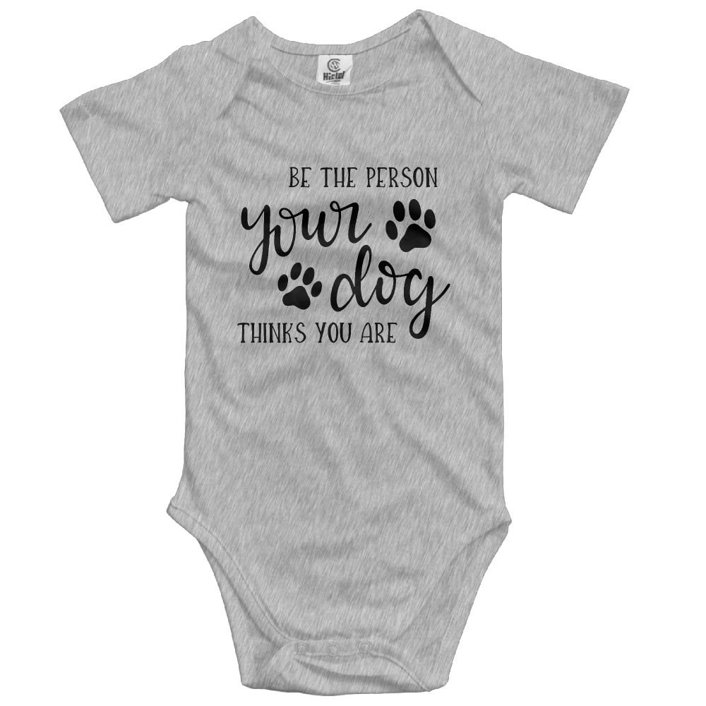 Midbeauty Be Person Dog Think Summer Baby Sleeveless Romper One-Piece Bodysuit Jumpsuit Outfits