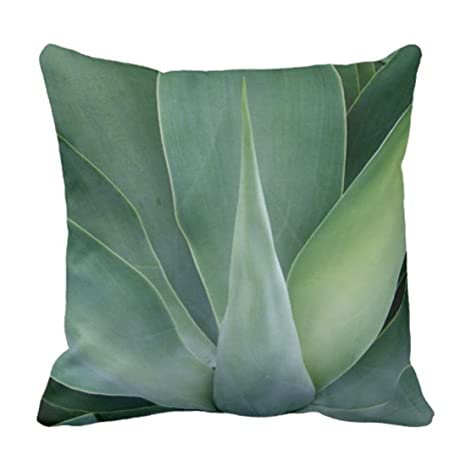 LanDu - Funda de Almohada Decorativa de Color Verde ...