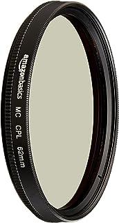 AmazonBasics Circular Polarizer Filter  62 mm