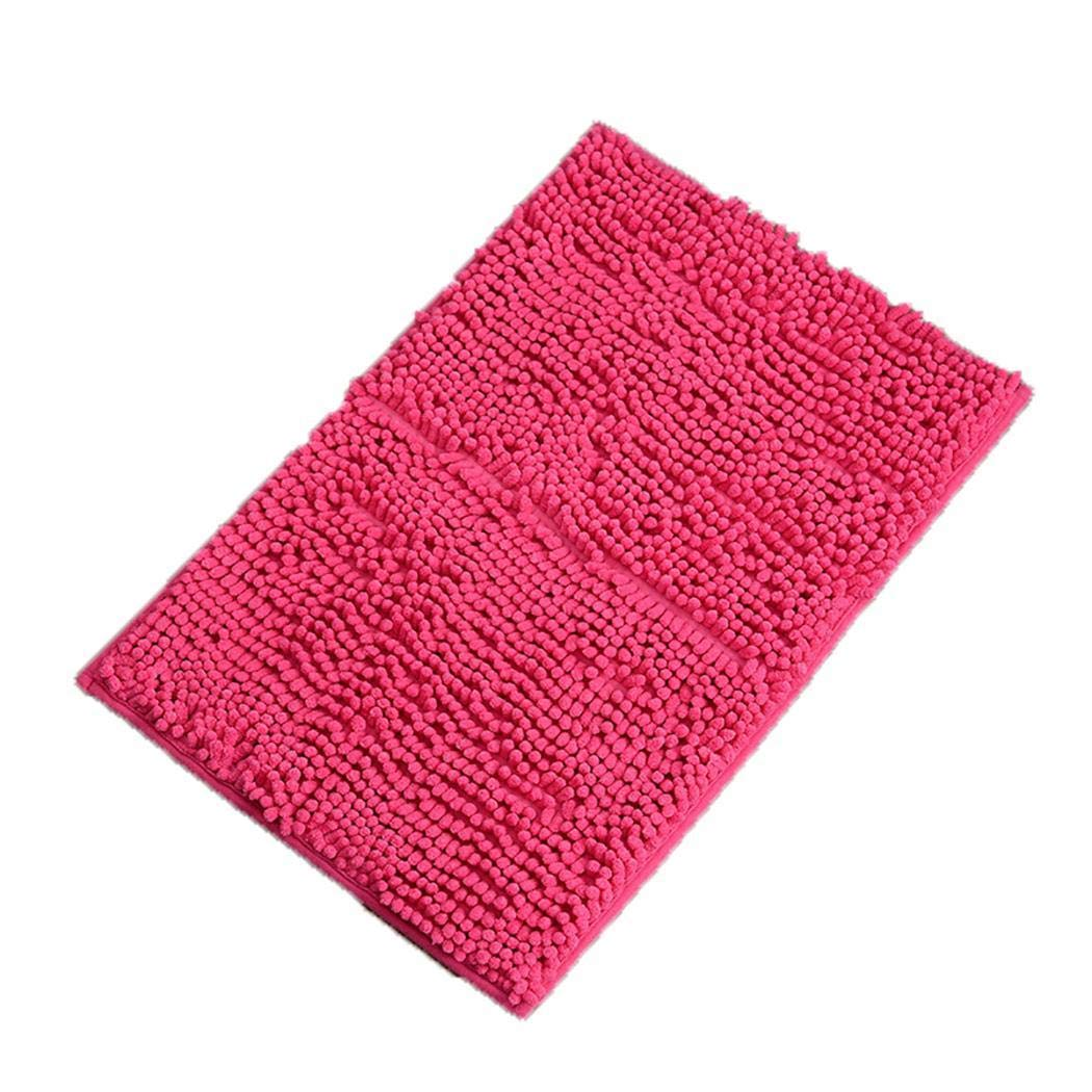 widome Bath Rug Non-Slip Soft Absorbent Home Bathroom Floor Mat Carpets - 40x60cm by widome