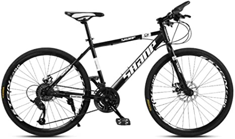 WJSW Bicicleta de montaña con Ruedas de 26 Pulgadas para Adultos ...