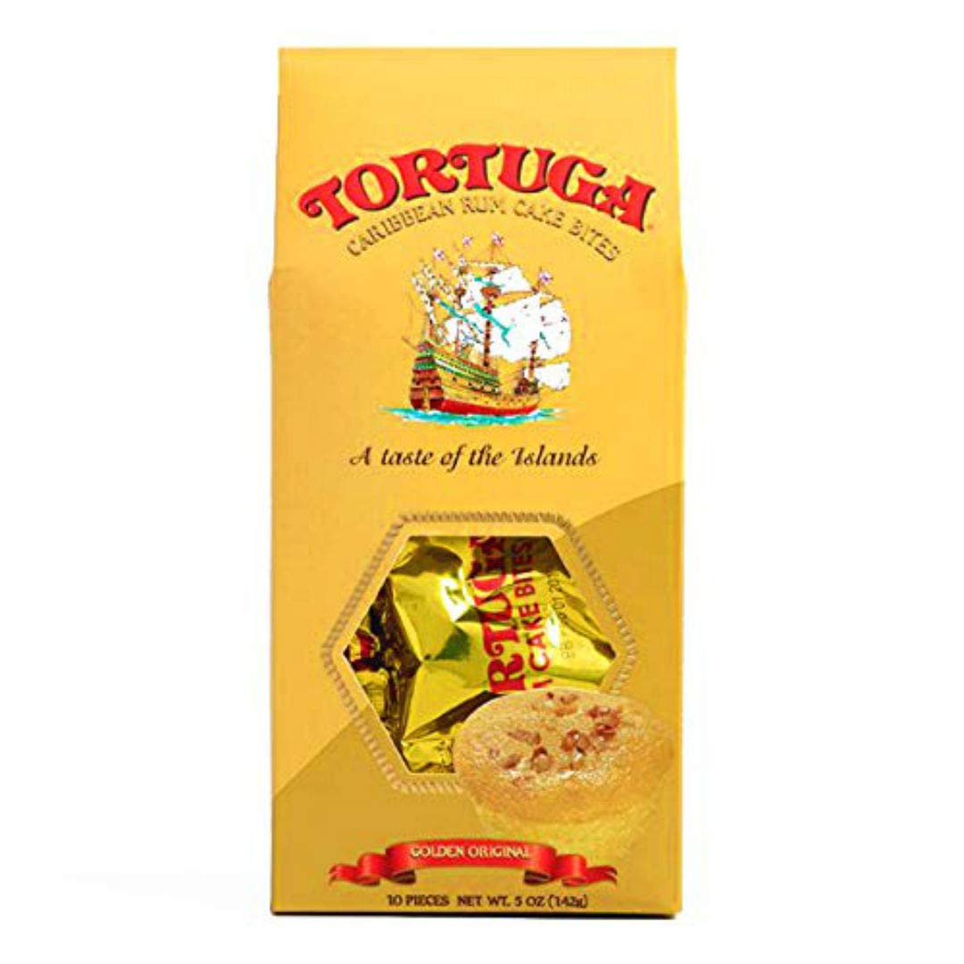 TORTUGA Gourmet Rum Cake Bites with Walnuts - The Perfect Premium Gourmet Gift by TORTUGA