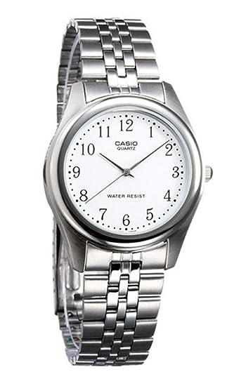 Casio MTP-1129A-7BEF - Reloj (Reloj de Pulsera, Acero ...