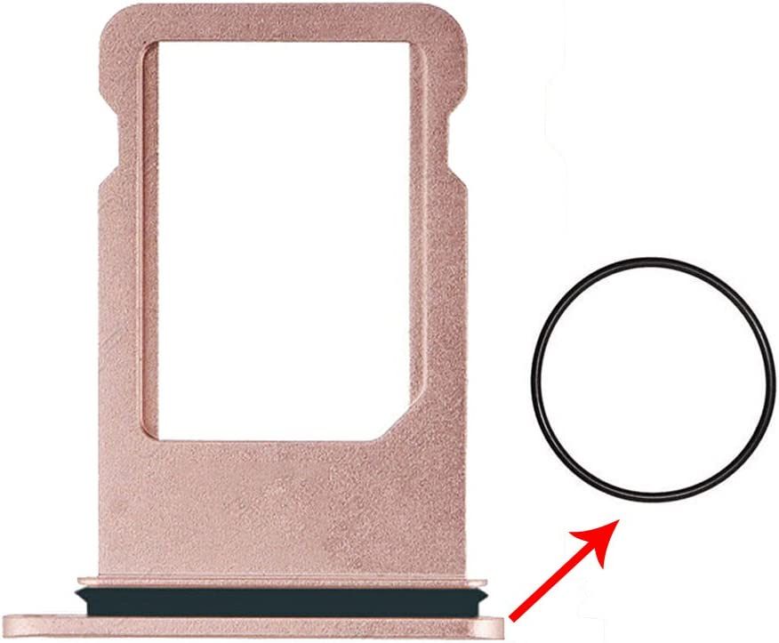 Afeax Rose Gold SIM Card Tray Holder Replacement for iPhone 7 Plus 5.5