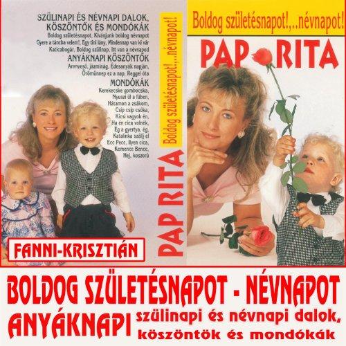 pap rita boldog születésnapot Amazon.com: Boldog születésnapot névnapot!: Pap Rita: MP3 Downloads pap rita boldog születésnapot