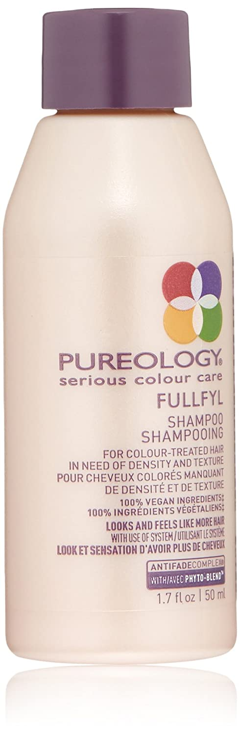 Pureology | Fullfyl Densifying & Texturizing Shampoo | For Fine, Color Treated Hair | Sulfate-Free | Vegan