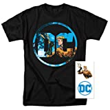 Popfunk DC Comics Logo Justice League Characters Exclusive T Shirts & Stickers