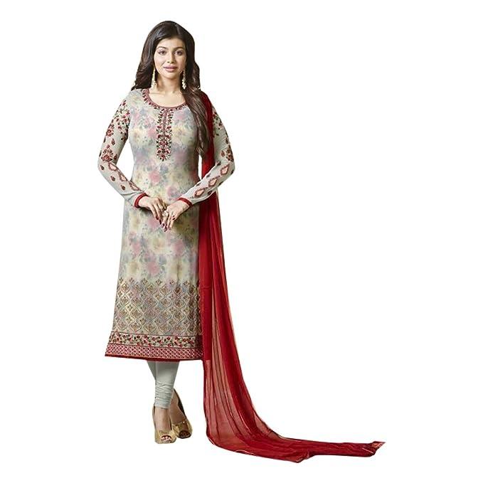 Indio paquistaní Straight Salwar Mujeres Kamiz Kameez Traje ...